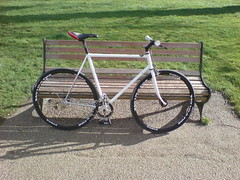 toby's bike is complete