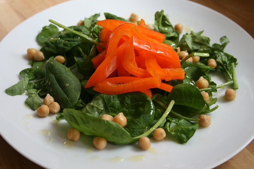 Sweet Pepper and Chickpea Salad