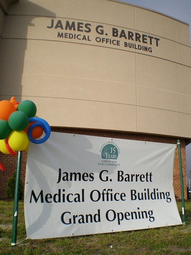 Barrett Center grand opening