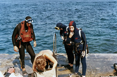 Seb - Scuba Diving - 01 (sebastien.barre) Tags: france me scuba diving retro 1984 scubadiving oldfamilyphotos sebastien altuwa
