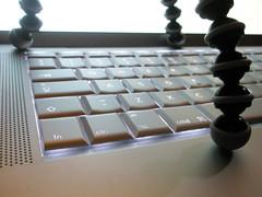 Robot typing 02