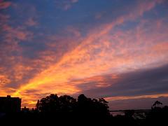 Sky (rafaboreanaz) Tags: sunset sky canon a610