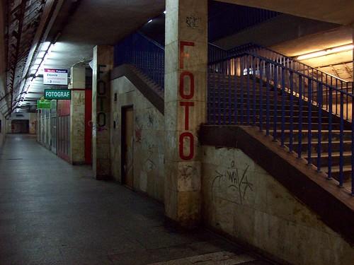 Katowice Main Station catacombs