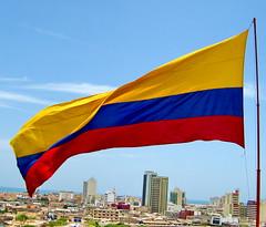Cartagena (jjrestrepoa (busy)) Tags: colombia flag bandera cartagena multicolor