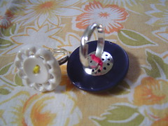 2 button rings