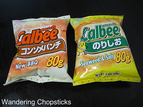 Calbee Seaweed and Salt Potato Chips 2