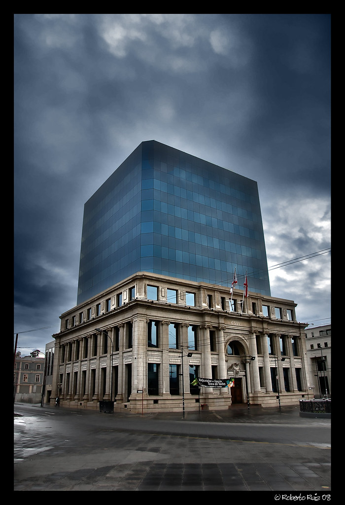 Edificio CSAV: Compañía Sudamericana de Vapores en Valparaíso