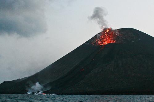 Krakatau Volcano