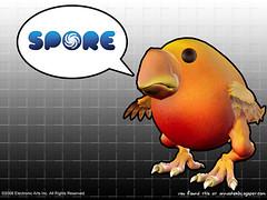Spore Chicken Wallpaper