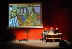 fumetto teatralizzato - Blake e Mortimer alla Fiera del Libro di Torino - photo Goria - click per i dettagli