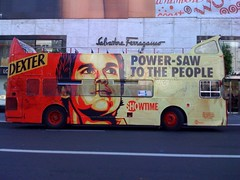 Shepard Fairey does Dexter