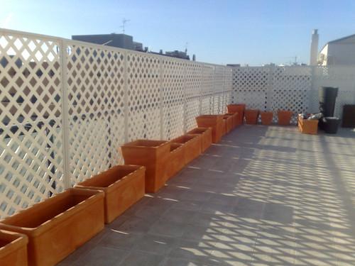 jardineras terraza