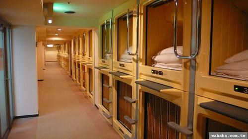 膠囊旅館.カプセルホテル