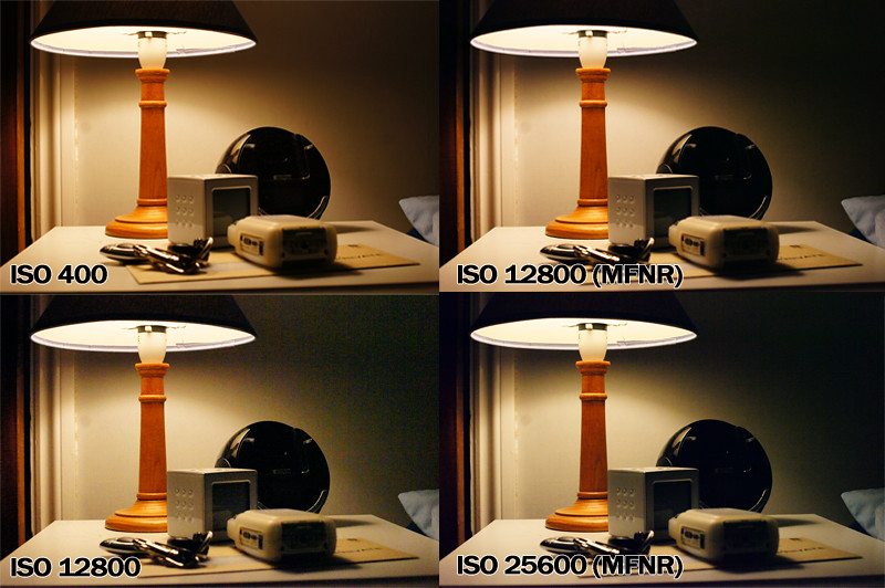 A580 \'Multi Frame Noise Reduction\' Test - Dyxum