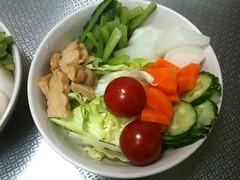 朝食サラダ(2011/5/19)