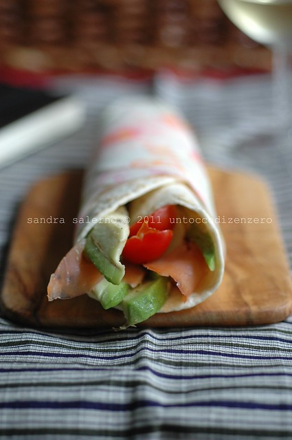 wraps salmone&avocado
