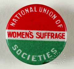 TWL-2004-588.1 (TheWomen'sLibrary) Tags: badge suffrage suffragettes nuwss nationalunionofwomenssuffragesocieties