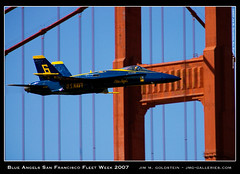 Blue Angels San Francisco Fleet Week 2007 (jimgoldstein) Tags: sanfrancisco california plane navy jet formation goldengatebridge f18 blueangels fleetweek 2007 fa18 jmggalleries platinumphoto anawesomeshot superaplus aplusphoto jimmgoldstein ultimateshot diamondclassphotographer flickrdiamond