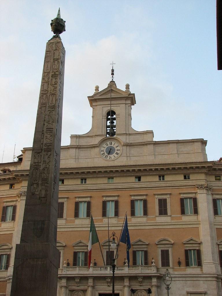 Roma, il Parlamento italiano
