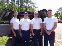 Marine Corps Color Guard (barkerja) Tags: guys marines marinecorps colorguard brightkite:user=barkerja