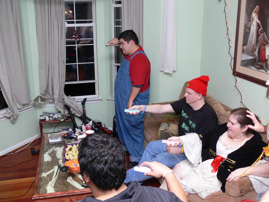 2dc3a08f6d Everybody Wii (Karrock) Tags  chris halloween sarah nicole jen tony johnny  chuck tina