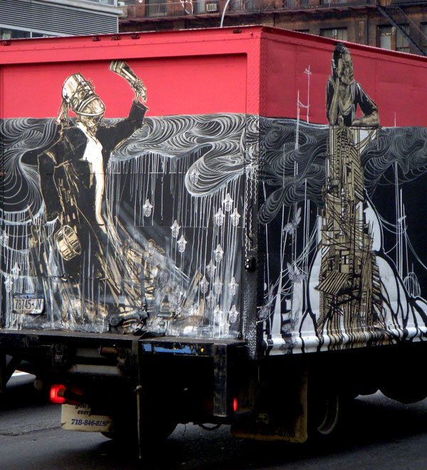 Swoon and David Ellis Truck