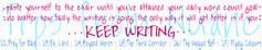 How to enjoy a successful NaNoWriMo