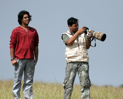 arvind and shivakumar...and more important, shivakumar's lens!