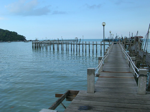 Pier at Teluk  Bahang
