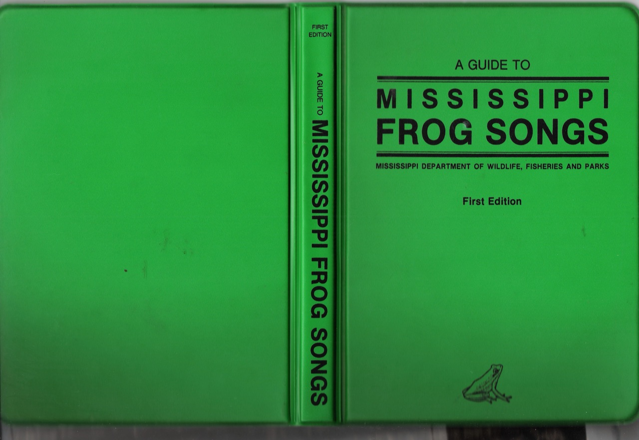 Cover of the case for the cassette and booklet.