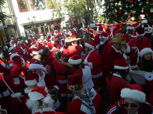 Santa at The Grove by Opus