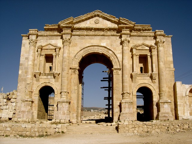 Arch of Hadrian at Jerash