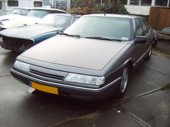 Citron XM Injection 1990 (regtur) Tags: auto holland cars netherlands dutch car french automobile citroen nederland voiture xm doetinchem medion citrosars