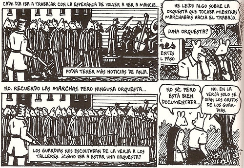 Maus - Vladek y Art - Marcha prisioneros
