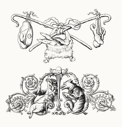 Wilhelm von Kaulbach - Reineke Fuchs, 1857 (Goethe) p34 (coconino)