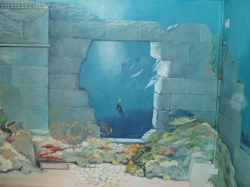Картина 3д на стене