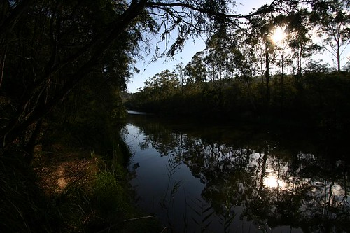 Yarra River, NE of Melbourne.