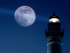 Moon beam (James Jordan) Tags: moon lighthouse wisconsin night wow point twilight artistic wind expression 100v10f lunar soe nite s700 racine windpoint blueribbonwinner artisticexpression magicdonkey mywinners abigfave platinumphoto anawesomeshot superaplus aplusphoto superbmasterpiece diamondclassphotographer betterthangood