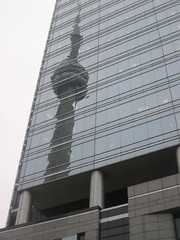 CN tower (fabienne & co) Tags: toronto reflection building tower glass cn cntower