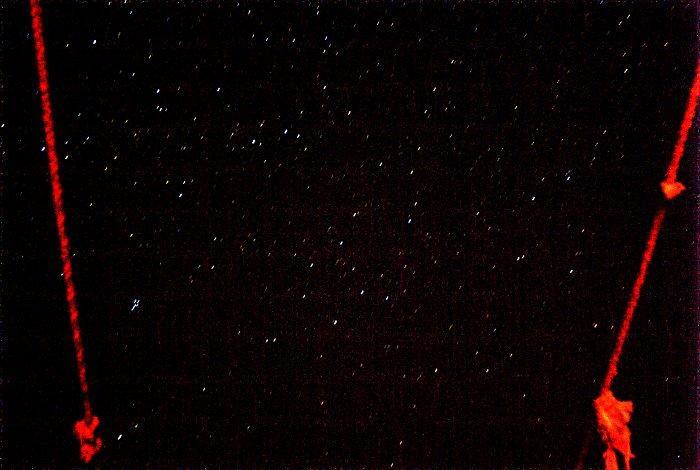 provant de fotografiar les estrelles