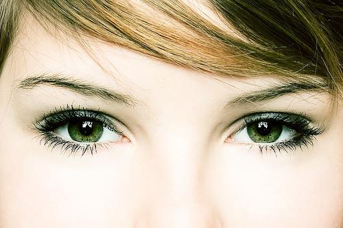 Green Eyes art photoshop