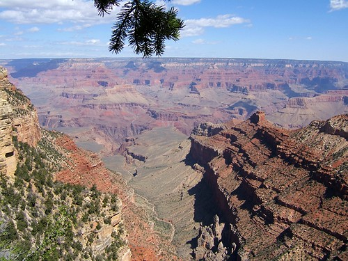 Just driving along the South Rim