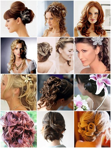 Back and side photos of updos to bring to your hairstylist,