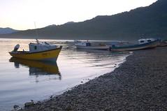 Puyuhuapi on sunset (MAR7INEZ) Tags: chile trip patagonia wow landscape nikond50 lagos lugares stunning carreteraaustral frutillar surdechile llanquihue southernchile parquepumalin parquenacionalqueulat pumalinpark chileanpatagonia