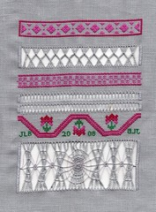 Beginning Drawn Thread GCC sampler
