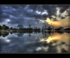 The Eye(s) (Chee Seong) Tags: sunset lake reflection clouds canon evening bravo searchthebest malaysia kl hdr titiwangsa canon1022mm blueribbonwinner firstquality 400d mywinners abigfave eyeonmalaysia infinestyle goldenphotographer bratanesque theunforgettablepicture theperfectphotographer thegardenofzen thegoldendreams goldstaraward