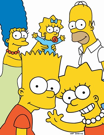 The Simpsons Family by Jonah Sparks.
