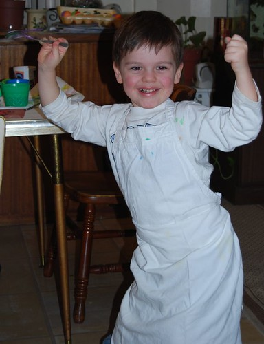 Loving Easter eggs and aprons