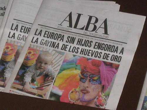 La Europa sin hijos engorda a la GAYina de los huevos de oro