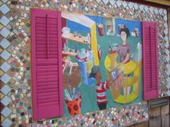 Art Scraps Mosaic Mural
